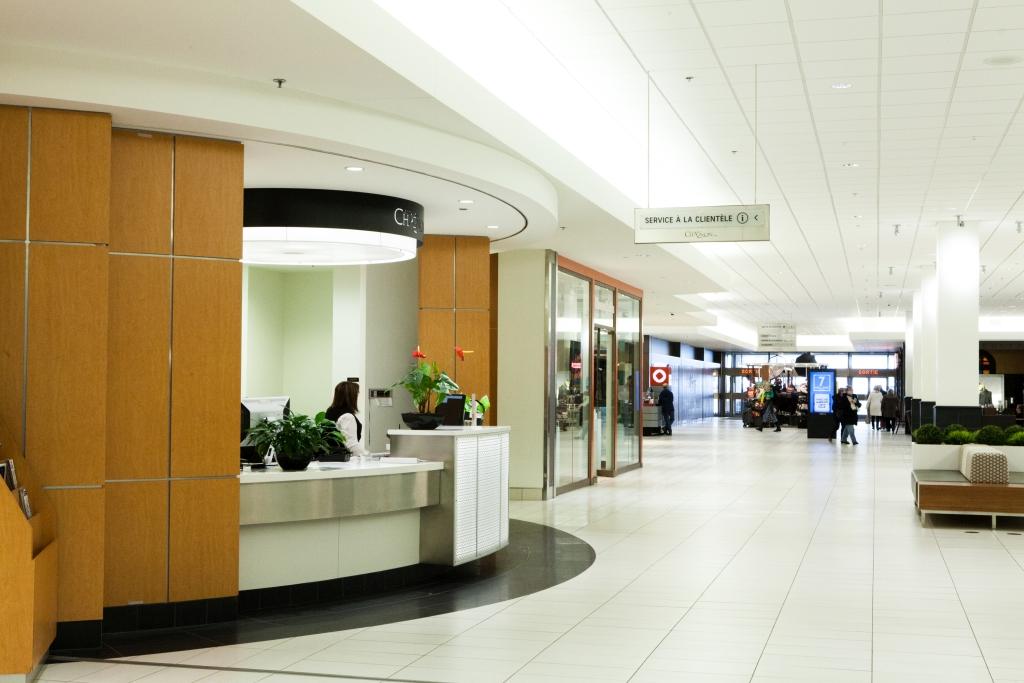 Centre Commercial Les Galeries Chagnon Groupe De