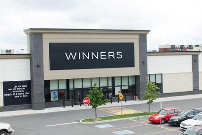 Méga-Centre Drummondville, Winners, QC